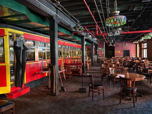 Dallas, Texas Spaghetti Warehouse Trolley