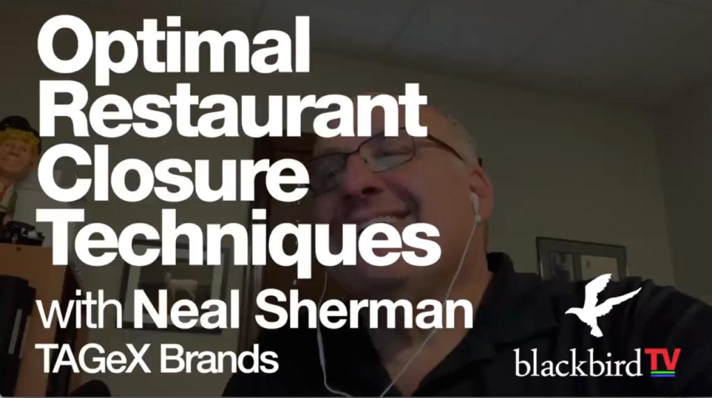 Restaurant Closure Techniques